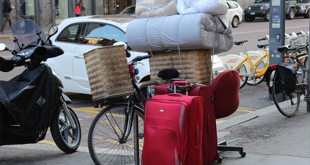 Stěhování na kole?